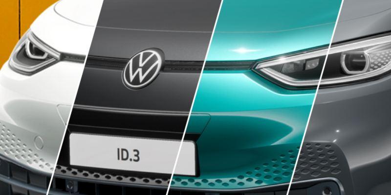 ID. 3 i 4 olika färger