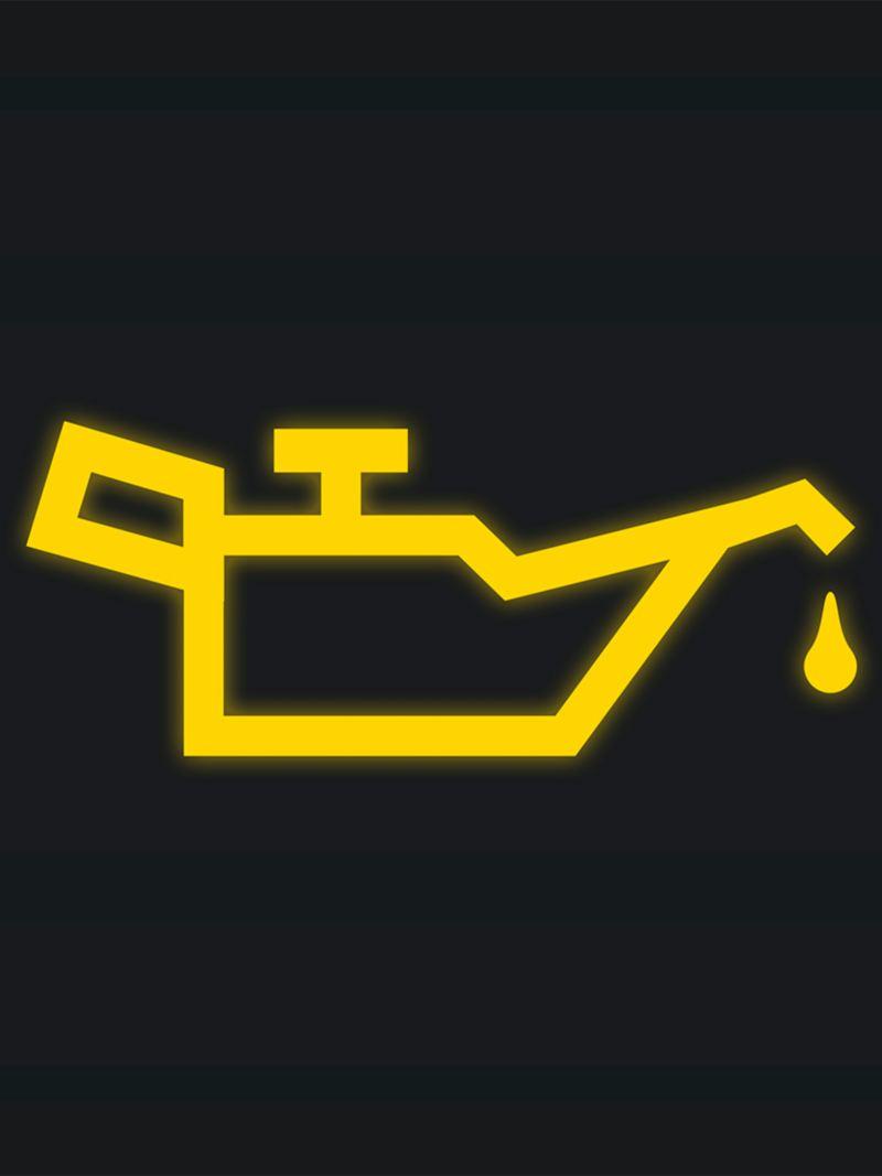 Significado del Indicador de aceite color amarillo en tablero Volkswagen