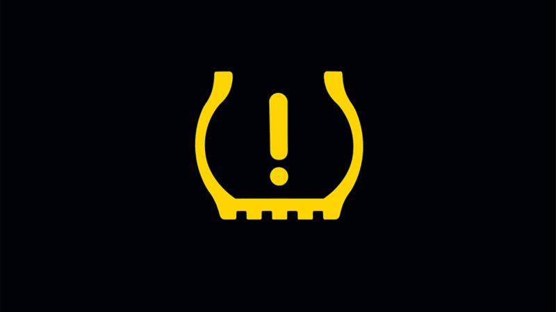 Luz de advertencia - Indicador de tablero por presión en los neumáticos de tu auto