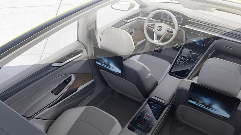 The inside of the sport coupe GTE
