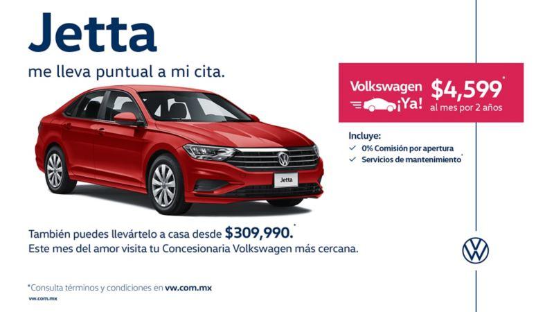Jetta 2020 -  Ahora a precio accesible en las ofertas de febrero de Volkswagen