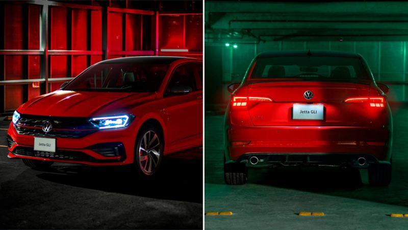 Volkswagen Jetta GLI 2021 - Diseño exterior del auto deportivo