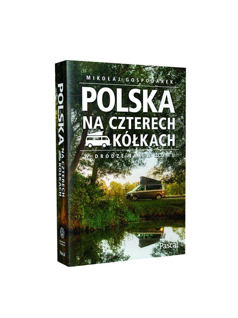"""Książka """"Polska na czterech kółkach"""""""