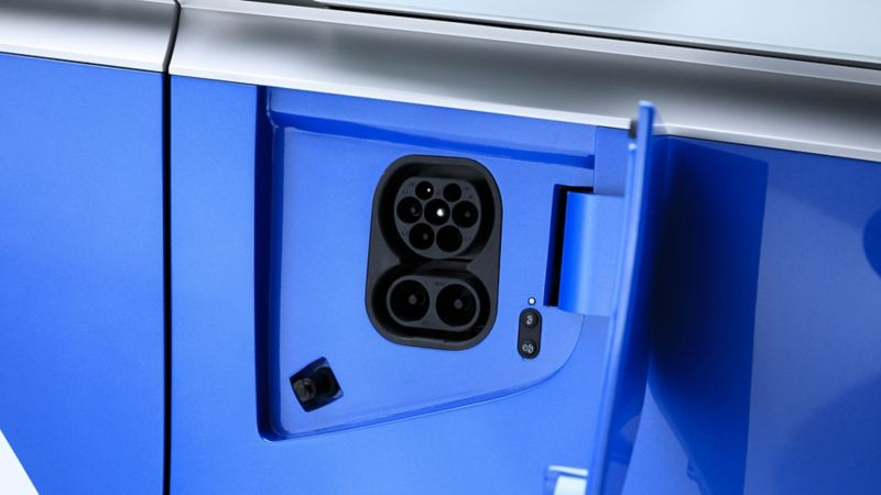vw Volkswagen id buzz cargo elektrisk varebil elbil elvarebil el varebil ladeuttak hurtiglader hurtiglading lading lader ladeboks vegglader hjemmelader