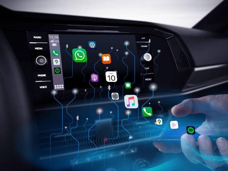 Lanzamientos Volkswagen - Innovación en conectividad, compra en línea de ropa y online booking