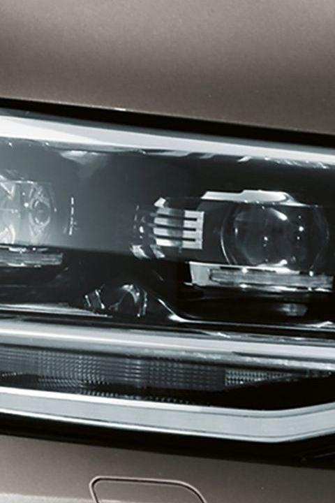 Led-koplampen Transporter