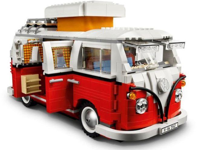 Volkswagen Camper Van Lego