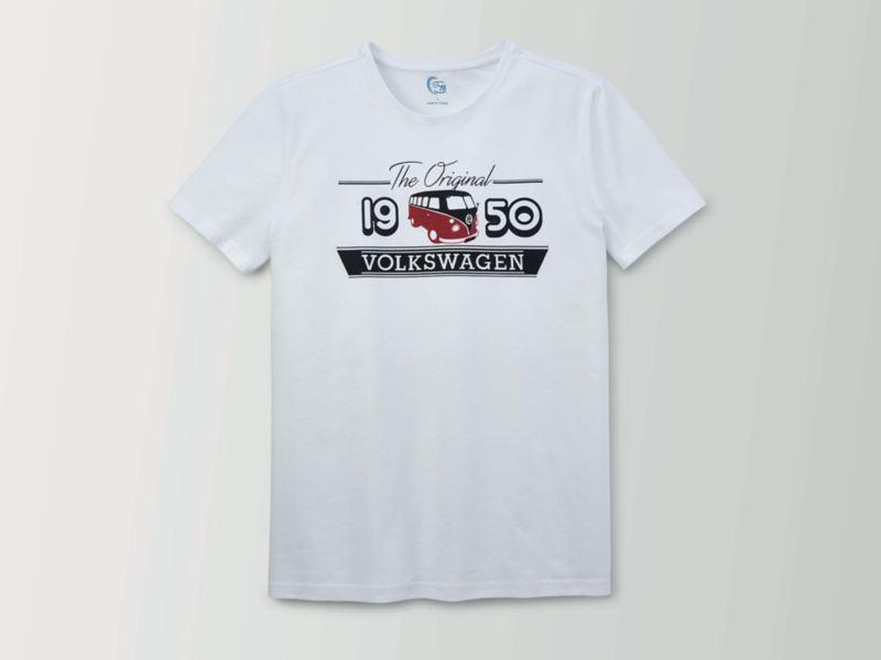 Ein T-Shirt mit Aufdruck.