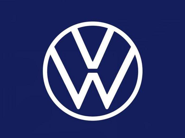 logo volkswagen sur la façade d'une usine