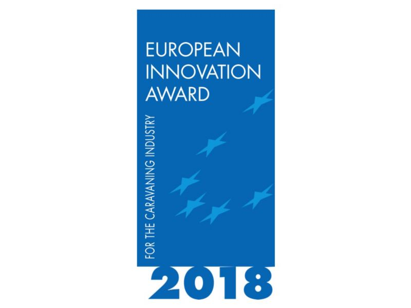 Das Logo des European Innovation Award 2018.