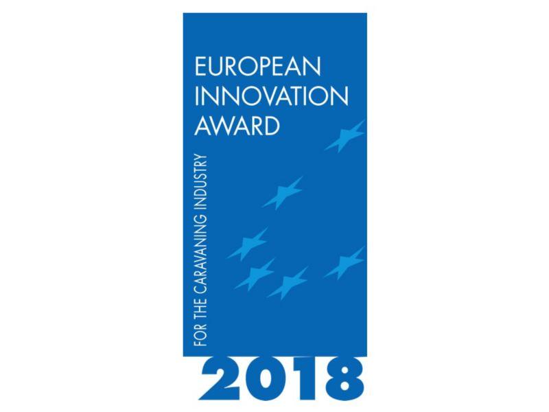 Das Logo des European Innovation Award 2018.