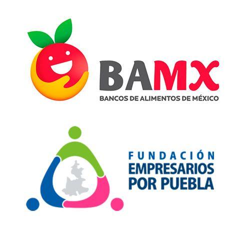 Logos de empresas que colaboraron con Volkswagen México en campaña de donación de despensas