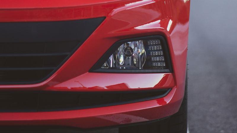 Luces diurnas LED de nuevo Virtus de Volkswagen