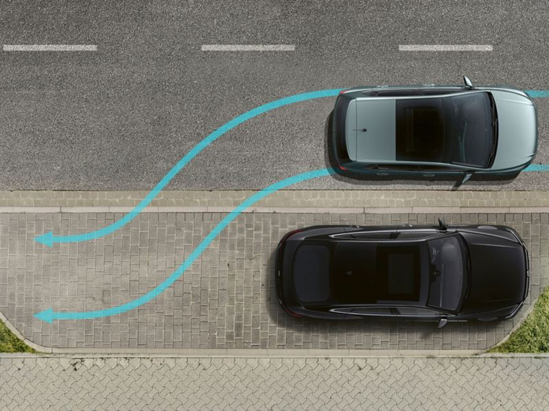 Park Assist de la Polo IQ.DRIVE.