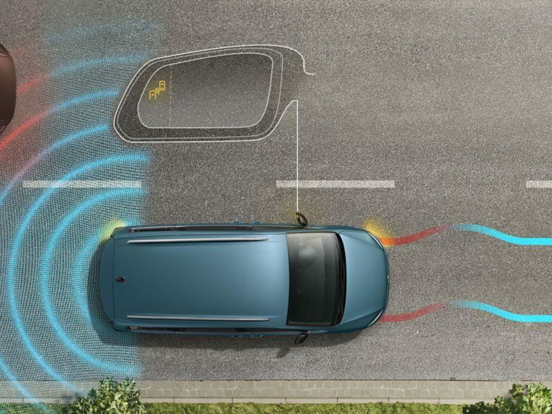 Blind Spot du Sharan IQ.DRIVE