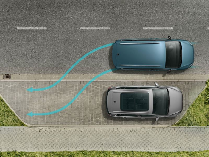 Park Assist du Sharan IQ.DRIVE.