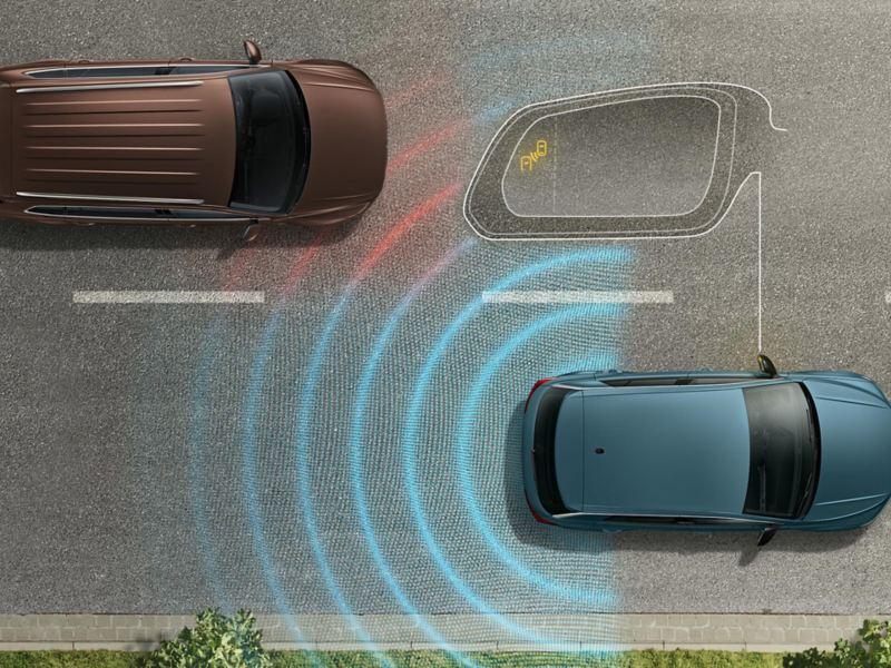 T-Roc IQ.DRIVE Blind Spot