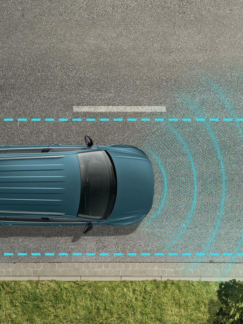 Tiguan Allspace IQ.DRIVE lane assist