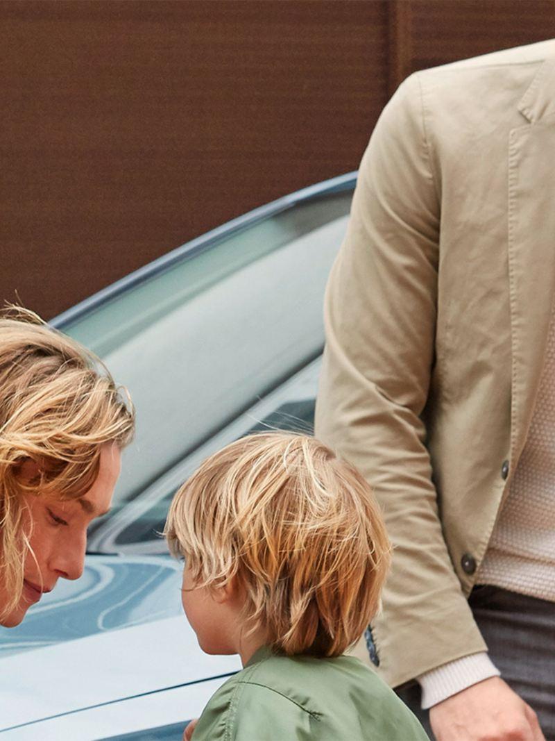 Rodzina przed Touranem IQ.DRIVE