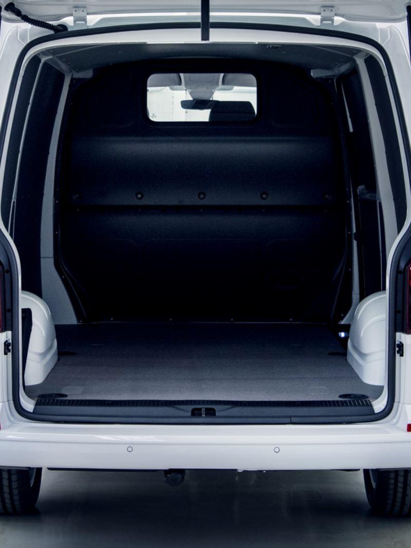 O compartimento de carga da Transporter 6.1.