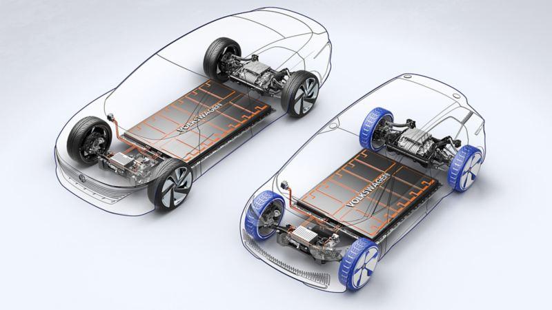 Mange modeller bygget på samme MEB plattform