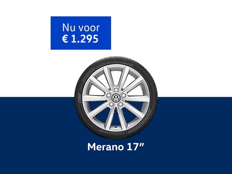 Merano 17 inch velgen