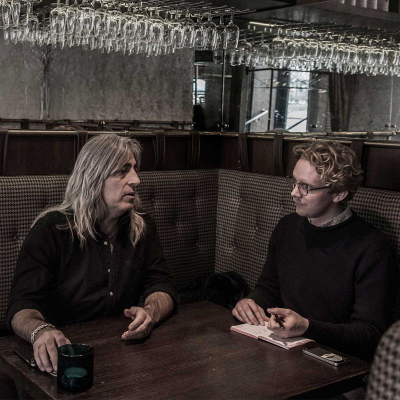 Erik Gustafsson intervjuar Mikkey Dee.