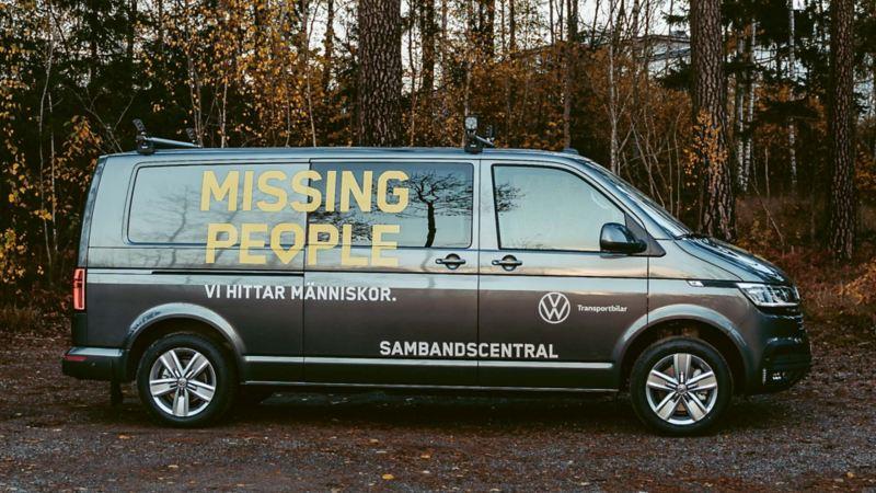 Den nya Transportern är inredd för att underlätta sök för Missing People