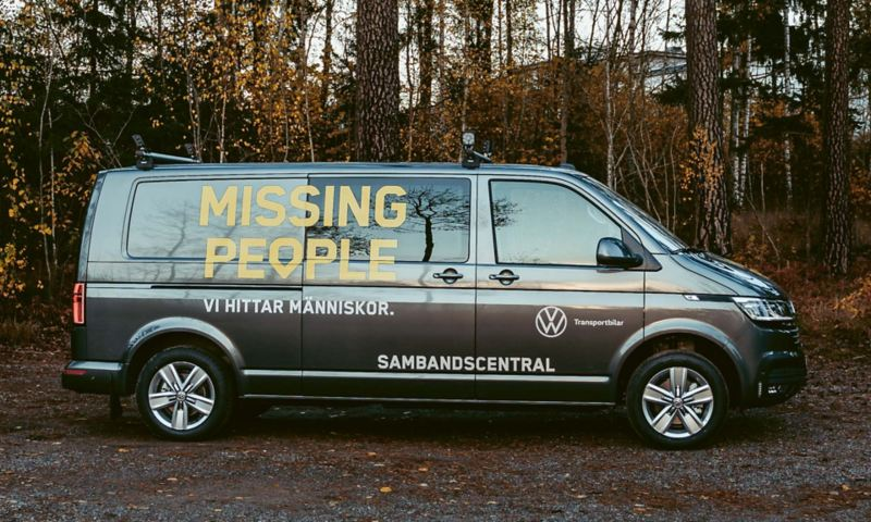 Missing Peoples nya Transporter från Volkswagen