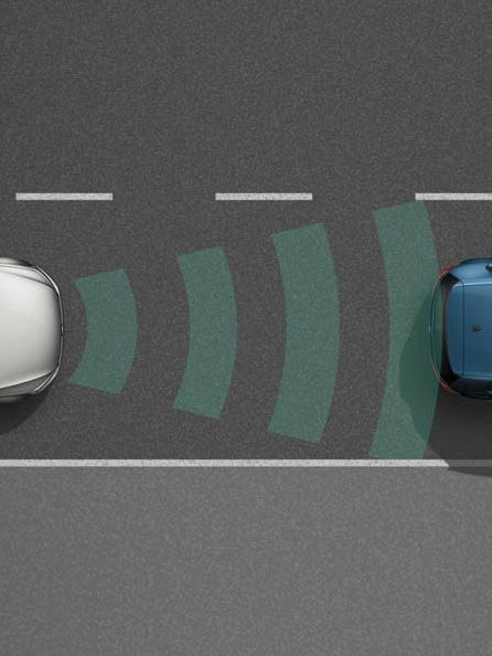 Tiguan SUV, infografica Front Assist