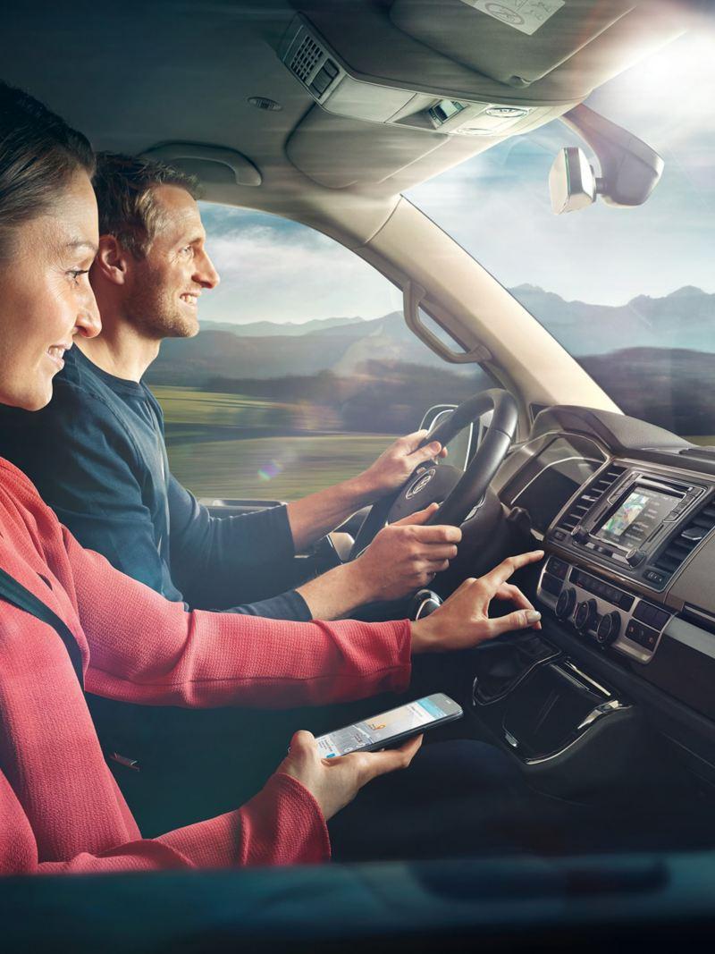 Discover Media Plus i en VW Crafter