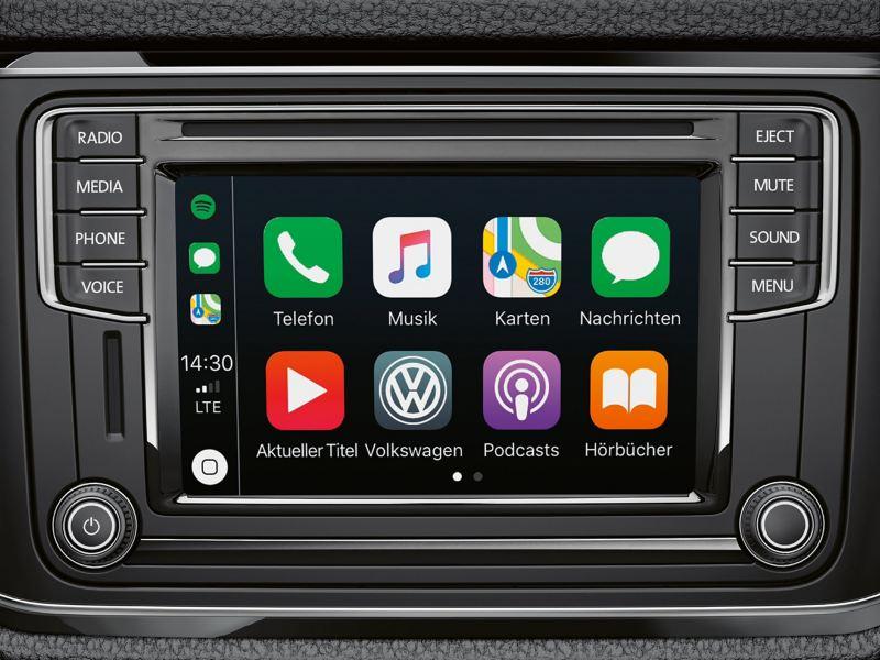 """System audio """"Composition Media"""" wyświetla najważniejsze aplikacje i usługi mobilne."""