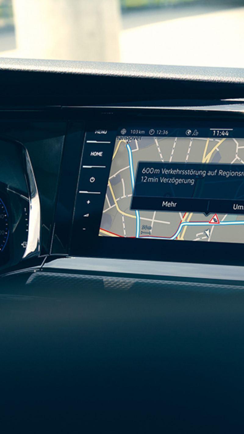 Infotainment och navigation i en VW Multivan