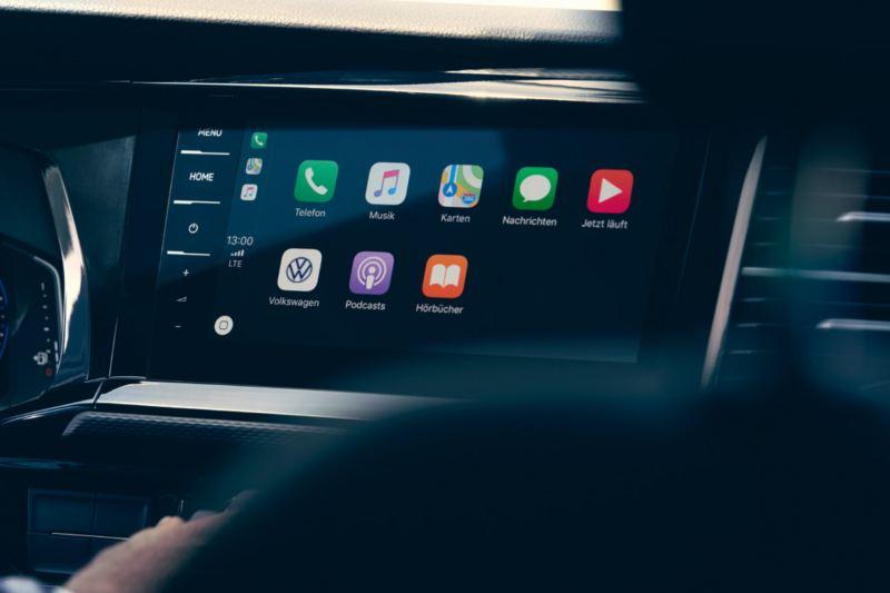 volkswagen multivan 6.1 app connect pantalla movil