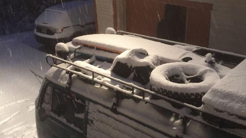 Snöstorm i Boston
