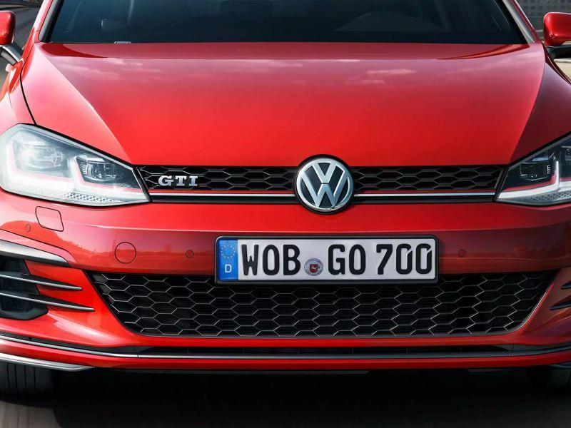 Face avant Volkswagen Golf GTI