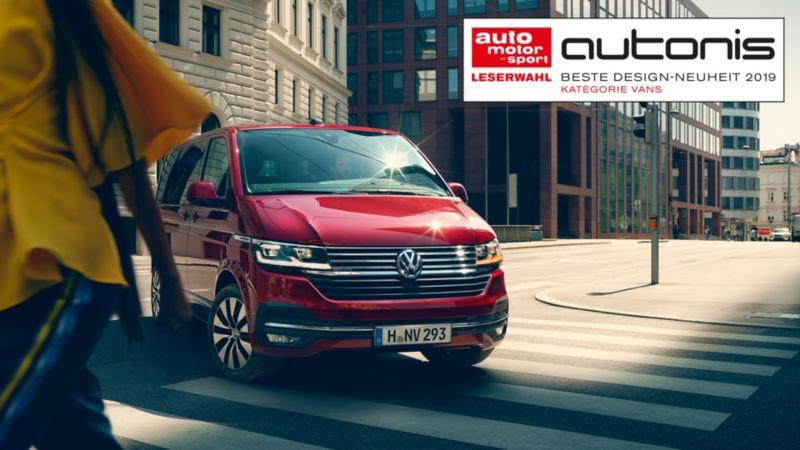 Volkswagen Multivan in città