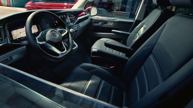 Interiören i VW Multivan 6.1