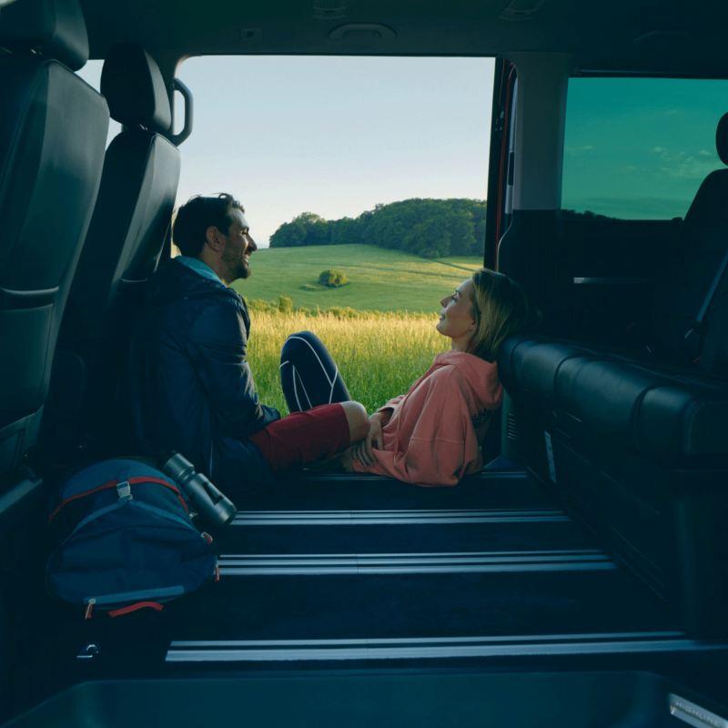 Samfunnsansvar vw Volkswagen Nyttekjøretøy autoretur Multivan stor familiebil camper natur biltur