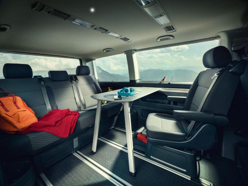 vw Volkswagen Multivan 6.1 Highline 7-seter familiebil minivan maxitaxi persontransport fleksible seteløsninger