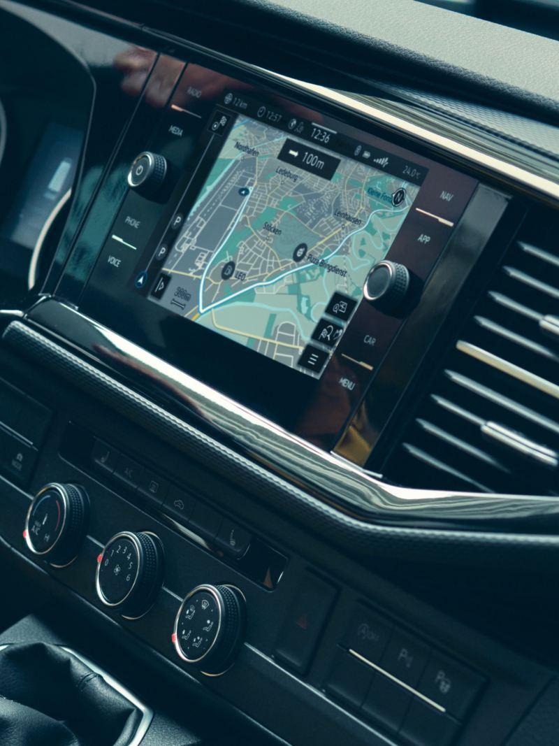 Nya infotainmentsystem i VW Multivan minibuss