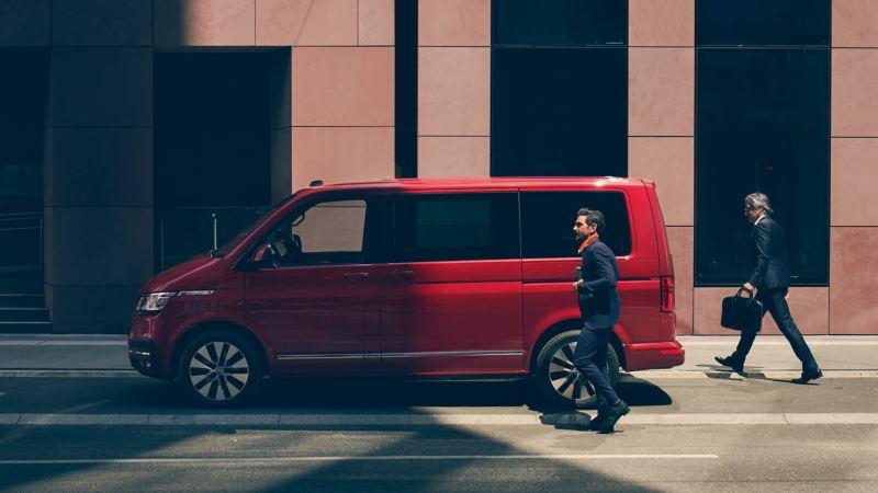 Der Multivan 6.1 dient auch als Business-Fahrzeug.