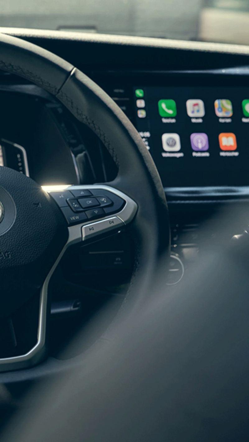 Driftsstatus We Connect Car-Net Multivan multifunksjonsratt