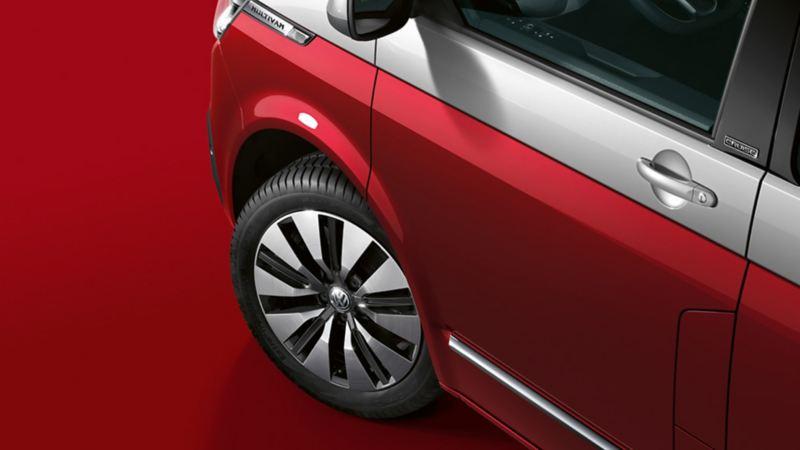 Volkswagen équipée de pneus toute saison