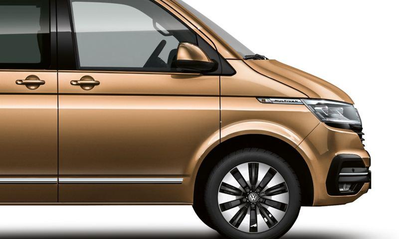 Lakier metaliczny Volkswagen Multivan 6.1 w kolorze Copper Bronze.