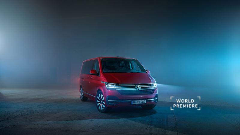 verdenspremiere på vw Volkswagen Multivan 6.1