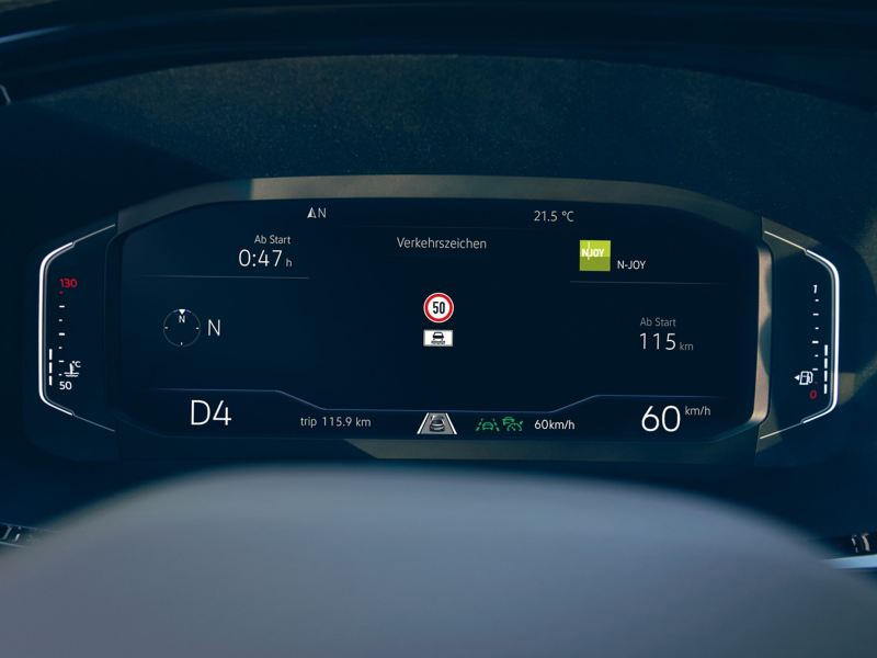 Cyfrowy kokpit Volkswagen California 6.1.