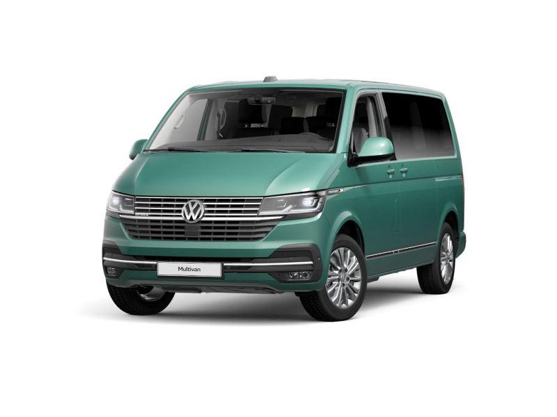 Volkswagen Multivan Bayleaf Green