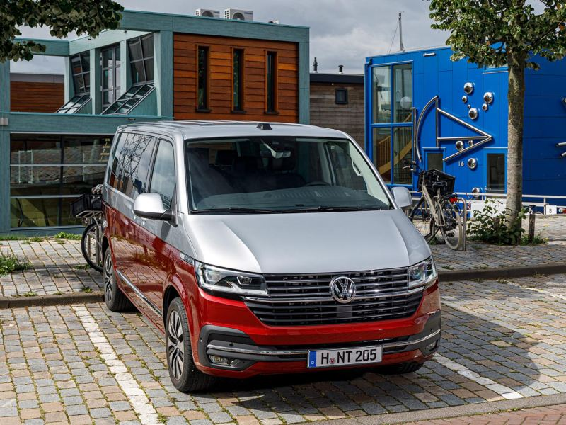 Volkswagen Multivan T6.1 framför spännande arkitektur