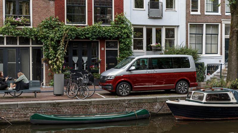 Nya Volkswagen Multivan T6.1 i Amsterdam